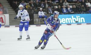 Johan Esplund hade svårt att komma loss på sin bästa nivå när ett ramstarkt Vänersborg stängde igen.