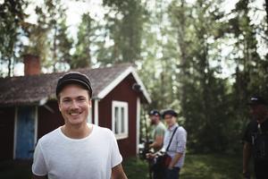 Magnus Häll är glad över att få med sin låt i serien. Foto: Susanna Olsson