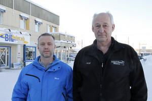 Ljusdals Bildelars ägare Mats Zetterman, och Kent Ström som äger företagshotellet Hägern, har efterlyst dialog om framtiden. Nu verkar deras företag få en tids respit.