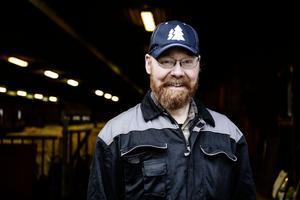 Jörgen Norberg  driver tillsammans med sin familj ett företag med nötköttsproduktion.