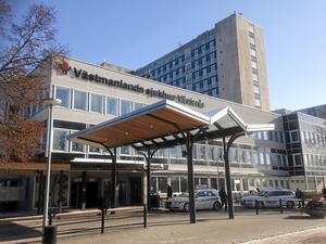Västerås sjukhus.