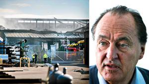 Anders Olsson, vd för Cassandra Oil, är nöjd efter beskedet. Det har nu gått nästan ett år sedan den stora industribranden.