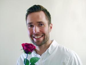 David Möller är årets Bachelor, och det är hans hjärta Malin vill vinna i programmet. Foto: TV4.