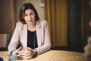 Språkröret Isabella Lövin (MP). Foto: Erik Simander/TT