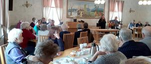 Cirka 60 medlemmar i PRO Ragunda samlades till årsmötet. Foto: Ingrid Wiksten