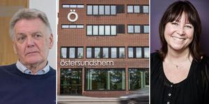 Östersundshem återgår till åtta timmars arbetsdag från 1 september. Christer Sundin, till vänster, före detta vd Östersundshem. Gunilla Nilsson, till höger, fackombudsman för Unionen.