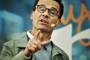 I dag är det halvtid för Ulf Kristersson (M) i hans sonderingar för att bilda en ny svensk regering. Foto: Vilhelm Stokstad/TT
