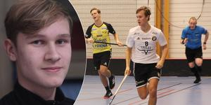 Anton Dahlström har gjort 25 poäng för Skälby den här säsongen i division 1. Nu belönas han med en landslagsuttagning.