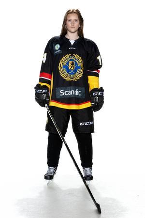 Foto: Lars-Åke Johansson/Södermanlands  Ishockeyförbund.  Cornelia Manner.