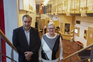 Mohammed Alkazhami och Karin Westergren är nämndemän vid Falu tingsrätt.