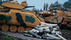 Turkiska stridsvagnar.