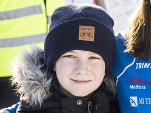 Martin Lundh, 10, elev, Sundsvall.
