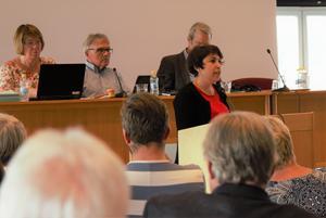 Miljöpartiets Andréa Bromhed är stolt över att majoriteten gett utrymme för miljö- och klimatfrågor.