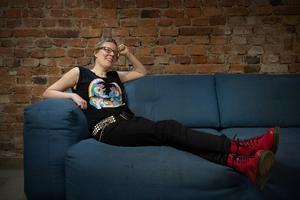 Författaren Helena Österlund debuterar som dramatiker. Arkivbild.