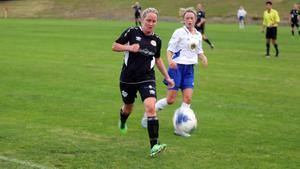 Camilla Svensson fick beröm från coach Holmkvist efter matchen.