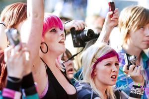 29 maj 2010. Publik på Yeah-festivalen i Stadsparken.