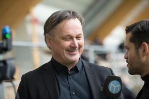 GIF Sundsvalls sportchef Urban Hagblom på plats i Nordichallen vid lagets första träningen säsongen 2018.