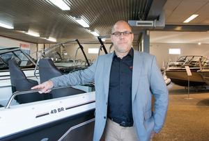 Vd:n Joakim Mellqvist är stolt över den utveckling som företaget har gjort sedan 2009.