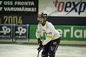 Daniel Bäck var en av Falu BS främste spelare när man forcerade på slutet.
