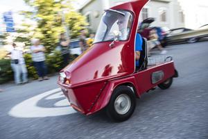 Två- och trehjuliga fordon rullade genom Sollefteås gator under onsdagen.