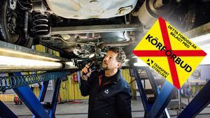 Transportstyrelsen inför nya regler för kontrollbesiktning. Bild: Christine Olsson/TT