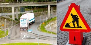 Trafikverket ska bredda körfälten från rondellen vid Södra brofästet och några hundra meter västerut på Björneborgsgatan. Ett arbete som sätter igång till veckan.
