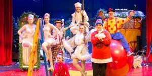 Daff-Daff med vänner gör sig redo för årets jullovscirkus för Sundsvalls barnfamiljer:
