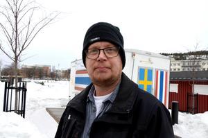 Erik Westner, 43, kommunanställd, Sundsvall: