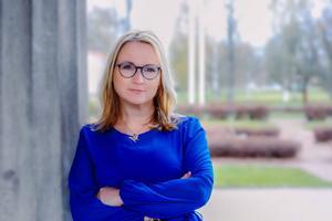 Monica Lundin (L) ordförande barn- och utbildningsnämnden, Borlänge. Foto: Privat
