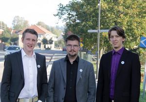 Sverigedemokraterna Fredrik Bernbolm, Marcus Molinder och Jonathan Lundin vill att luftrenare monteras in på samtliga förskolor i Timrå och går försöket bra så vill de att samma sak görs på äldreboenden.