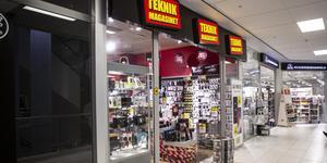 Teknikmagasinets butik i Kärnan blir kvar.