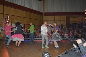 270 personer löste in sig för att se danstävlingen på folkets hus i Strömsund. Foto: Anders Andrée.