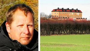 Tomas Kullberg, ordförande för Hölö-Mörkö kommundelsnämnd, ser inga hinder för att påbörja planeringen för 25 villor i närheten av Hörningsholms slott på norra Mörkö.