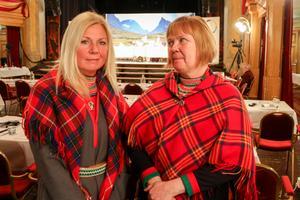 Carola Fjällström från landspartiet Svenska samer och Marita Granström, Álbmut, ser båda fram emot tre dagar av politiska diskussioner.