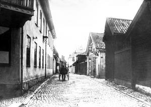 Prästgatan tidigt 1900-tal. Foto: Ernst Blom