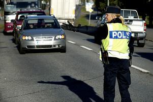 Christina Björk har suttit med i polisens valstab i region nord som representant för Västernorrland. Arkivbild: Håkan Humla