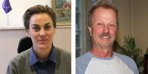 Caroline Dieker (M) får en replik av Per Eriksson (S) om sättet att sköta Askersunds kommun.