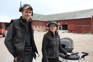 I framtiden vill Sebastian och Erica gärna ta emot skolbarn och visa hur det går till på en bondgård.