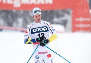Calle Halfvarssons Tour de ski har varit tung. Bild: Terje Pedersen/Bildbyrån