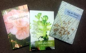 Tre böcker har det blivit, hittills.