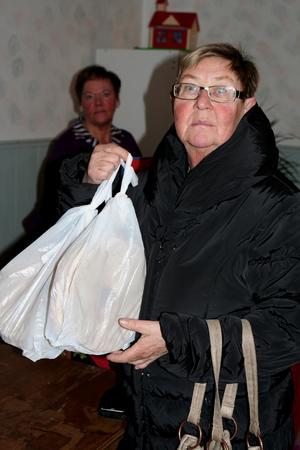 Dyrgriper. Anne-Lie Widén passade på att handla Karlholmsbröd.