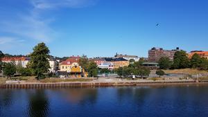 Södertälje är skribentens hemstad.