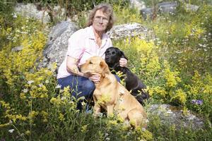 Nu har Sofi endast tre jaktlabradorer, två islandshästar och två stallkatter. Som mest har hon haft 16 hästar, 6 hundar och ett antal höns, ankor, får och katter.