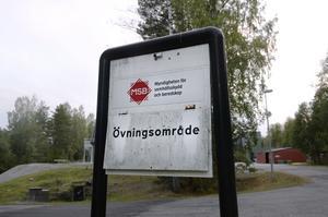 Området som används på MSB på Sandö är perfekt anpassad för denna typen av samverkansövningar.