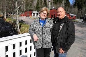 Nu längtar Yvonne och Thomas Jansson som driver  folkparken till att snön i Säterdalen ska smälta – i lagom takt.(Arkivbild)