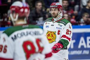 Tomas Skogs var kapten i Mora IK under säsongen 2017/2018. Foto: Christian Örnberg/BILDBYRÅN