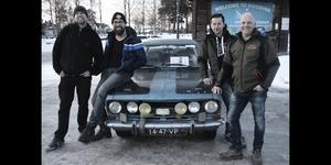 John van Zanten, Dieter van Lier, Pascal Knapen och Erwin Steŷvers är fyra av deltagarna i Garbage run.