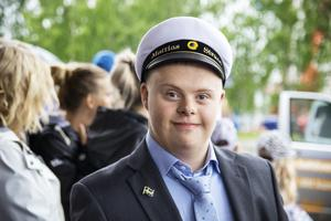 Mattias Strand ska jobba med ved i sommar.