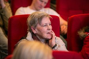 Inger Rundqvist lyssnade kritiskt.