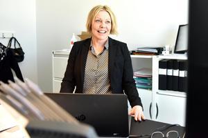 Anette Markström, rektor, tycker det är häftigt att en liten kommun satsar på framtiden.